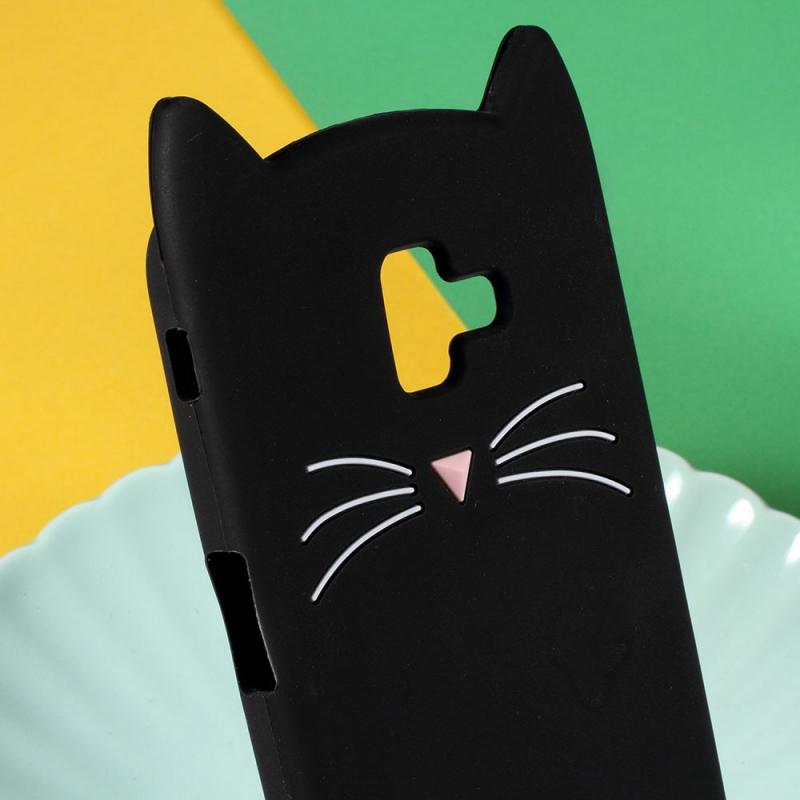 Černá kočička flash